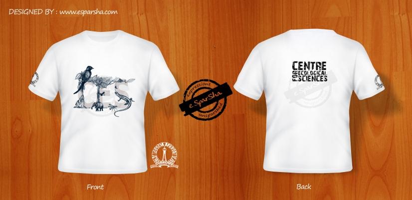 CES White T-shirt