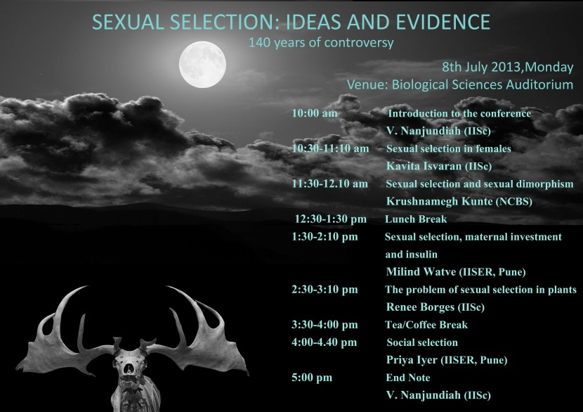 Sexual selection seminar poster
